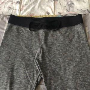 gray joggers pants